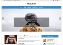 Excel Blog WordPress Theme