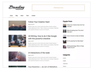 Feather Magazine WordPress Theme