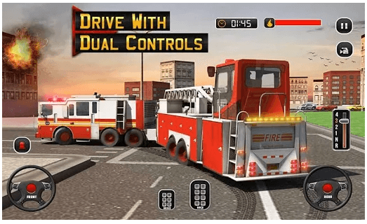 Fire Truck Driving School 911 Emergency Response android app