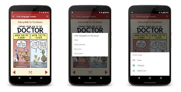 Fowl Language Comics android app