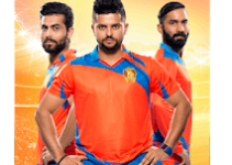 Gujarat Lions 2017 T20 Cricket Game Logo