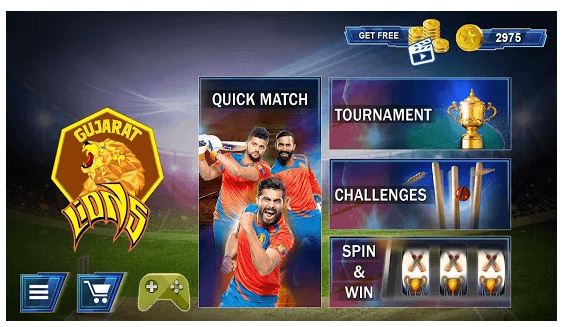 Gujarat Lions 2017 T20 Cricket Game