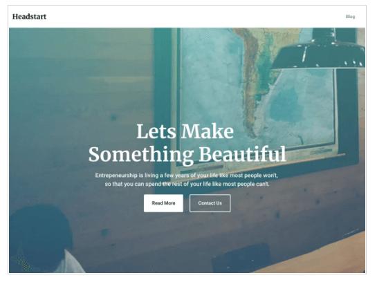 Headstart WordPress Theme