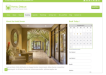 Hotel Dream WordPress Theme