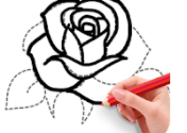 How To Draw Flowers app logo