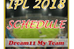 IPL 2018 Schedule - Dream 11 Team & Fantasy News Game Logo