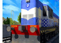 Indian Police Train Simulator android app logo