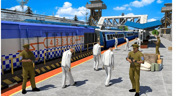 Indian Police Train Simulator android app