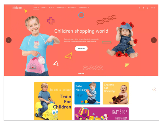 Kidzoo Lite WordPress Theme