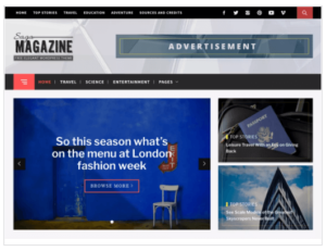 Magazine Base WordPress Theme