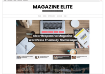 Magazine Elite WordPress Theme