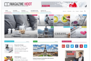 Magazine Hoot WordPress Theme