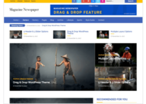 Magazine Newspaper WordPress Theme