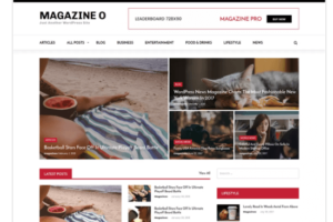 Magazine O WordPress Theme
