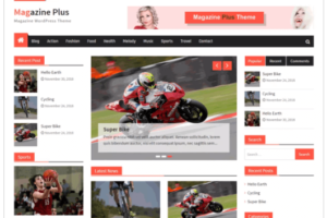 Magazine Plus WordPress Theme