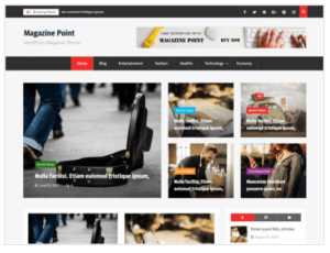 Magazine Point WordPress Theme