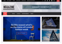 Magazine Saga WordPress Theme