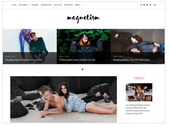 Magnetism WordPress Theme