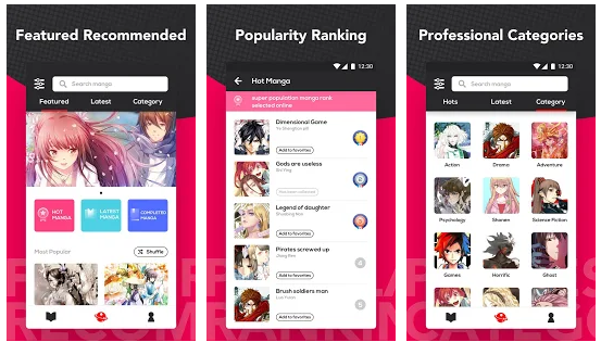 Manga Books (Beta) android app