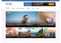 Metro Magazine WordPress Theme