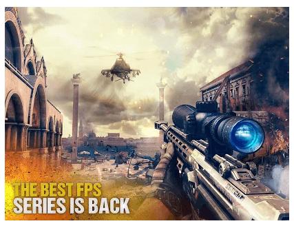 Modern Combat 5 eSports FPS game
