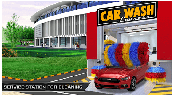 Modern Super Car Wash Station 2018 android app