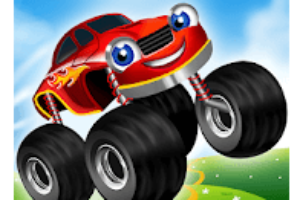 Monster Trucks Game for Kids 2 game logo