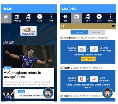 Mumbai Indians Official App Game