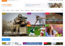 NewsMagbd WordPress Theme