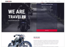 Nikosa WordPress Theme