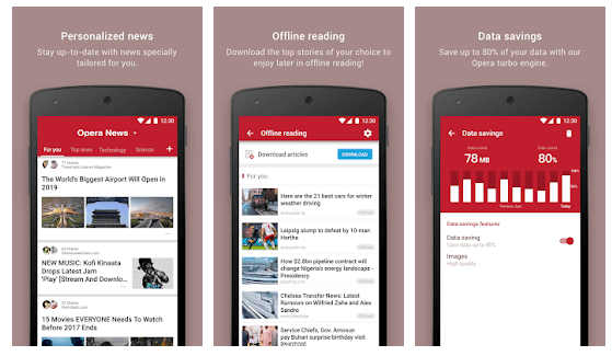 Opera News - Trending news and videos android app