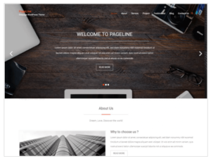 PageLine WordPress Theme