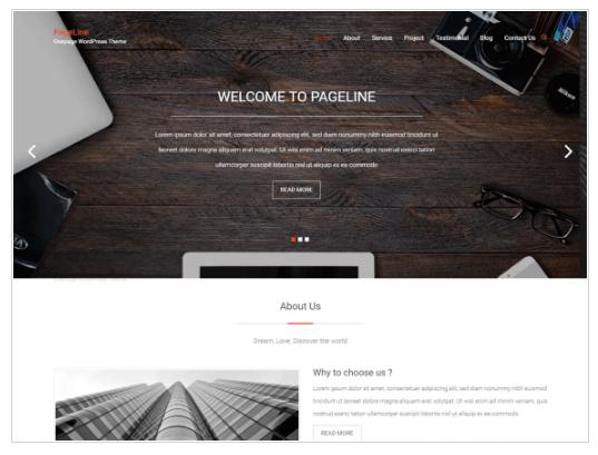 PageLine WordPress Theme