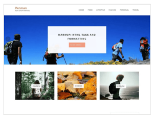Penman WordPress Theme