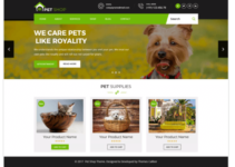 Pet Animal Store WordPress Theme