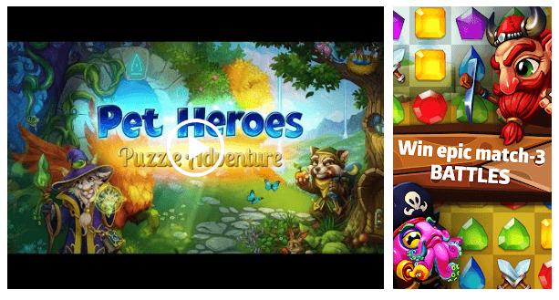 Pet Heroes Puzzle Adventure