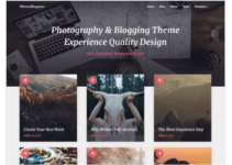 PhotoBlogster WordPress Theme