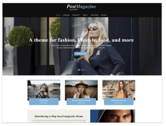 PostMagazine WordPress Theme