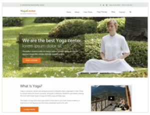 Pranayama Yoga WordPress Theme