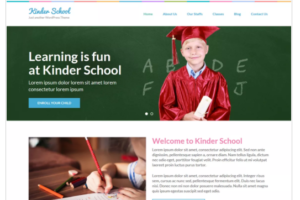 Preschool and Kindergarten WordPress Theme