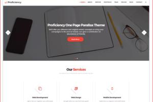 Proficiency WordPress Theme