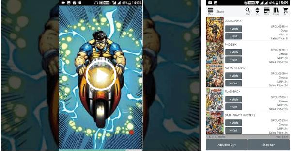 Raj Comics (Hindi Comic) android app