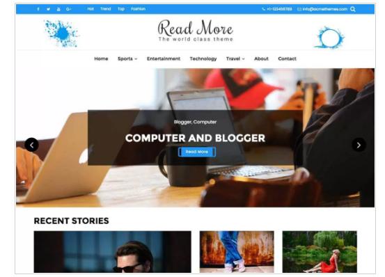 Read More WordPress Theme