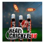 Real Cricket™ 18 android app logo