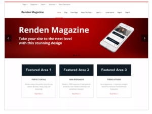 Renden Magazine WordPress Theme