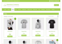 Responsive Commerce WordPress Theme