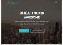 Rhea WordPress Theme