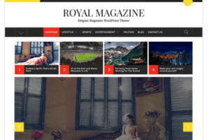 Royal Magazine WordPress Theme