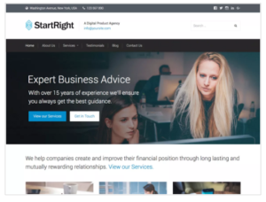 StartRight WordPress Theme