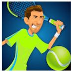 Stick Tennis Game Logo
